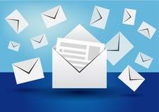 邮件 免版税库存照片