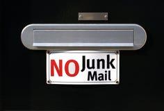 邮寄宣传品没有 库存图片