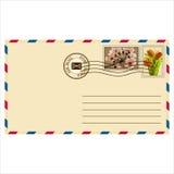 邮寄的信封 库存例证
