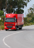 邮寄portugese路卡车 免版税库存图片