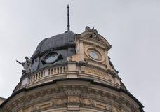 邮局在卢布尔雅那,斯洛文尼亚 库存照片
