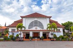 邮局在Java的Indoensia Surabya 免版税库存图片
