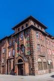 邮局在Nikiszowiec 免版税库存照片