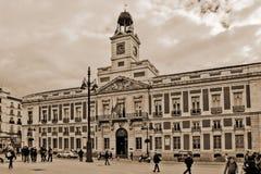 邮局的议院 免版税库存照片