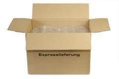 邮政的程序包 免版税库存照片