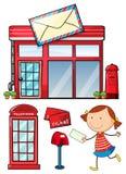 邮政 库存例证