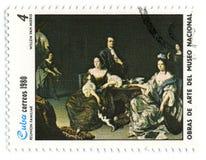 邮票。 库存图片