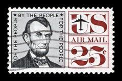 邮票我们 免版税库存照片
