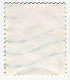 邮票的反面 免版税库存图片