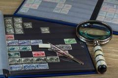 邮票的收集 图库摄影