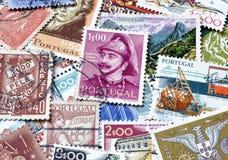 邮票的葡萄牙 免版税图库摄影