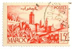 邮票葡萄酒 库存照片