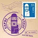 邮票集合 免版税库存照片