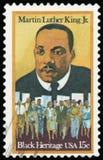 邮票-美国 图库摄影