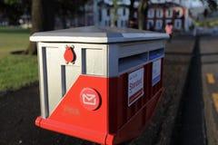 邮箱在新西兰 免版税库存图片