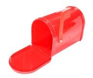 邮箱红色 库存图片
