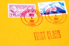 邮费 免版税库存图片