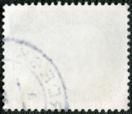 邮费反面印花税 免版税库存图片