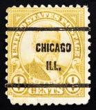 邮费大约1930年 美国 免版税库存照片
