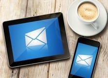 邮件通信 免版税库存照片