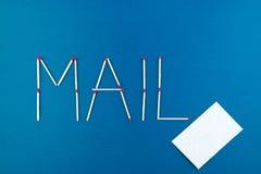 邮件 库存照片