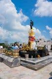 邵族Suranaree雕象,呵叻,泰国 库存照片