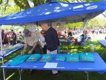 郁金香节日在阿尔巴尼,纽约州 免版税图库摄影