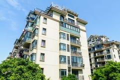 郊区公寓 免版税库存照片