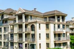 郊区公寓 免版税图库摄影