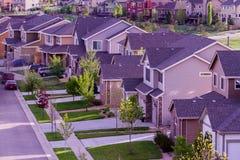郊区居民 免版税库存图片