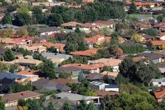郊区生活 免版税库存图片