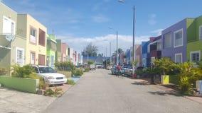 郊区街道 库存图片