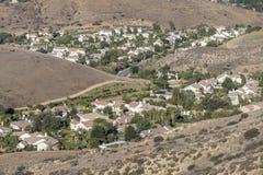郊区领域 免版税库存图片