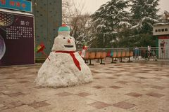 郑州people& x27; s公园 免版税库存照片