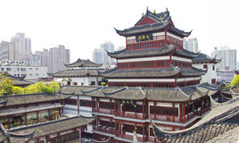 部分传统的上海 免版税库存图片