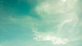 部分多云天空 库存照片