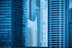部分特写镜头现代大厦  免版税库存照片