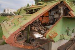 部分的坦克 库存图片