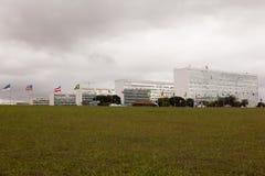 部广场巴西利亚 免版税库存图片