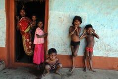 部族印度的人 免版税库存图片