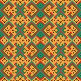 部族墨西哥无缝的样式 库存图片