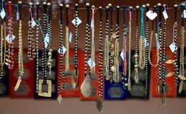 部族小珠的珠宝 免版税库存图片