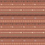 部族手拉的背景,概念乱画样式 免版税库存图片