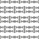 部族无缝的几何样式 图库摄影
