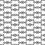 部族无缝的几何纹理 免版税库存照片
