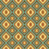 部族无缝的样式 设计几何 向量例证