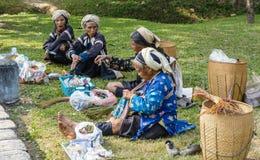 部族的亚洲的妇女 库存照片