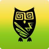 部族的猫头鹰 库存照片
