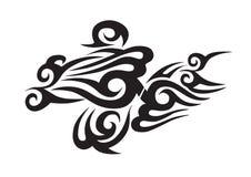 部族的纹身花刺 图库摄影