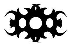 部族的纹身花刺 免版税库存照片